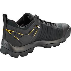 Keen Venture WP Shoes Herre black/vibrant yellow